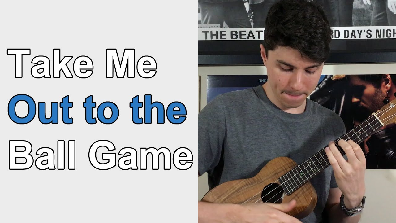 Take Me Out to the Ball Game - Ukulele solo - YouTube