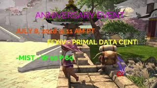 FFXIV MEAYUMI B & E:  1 yr Anniversary in-game Event