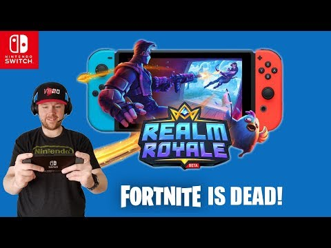 Realm Royale Better Than Fortnite On Nintendo Switch?