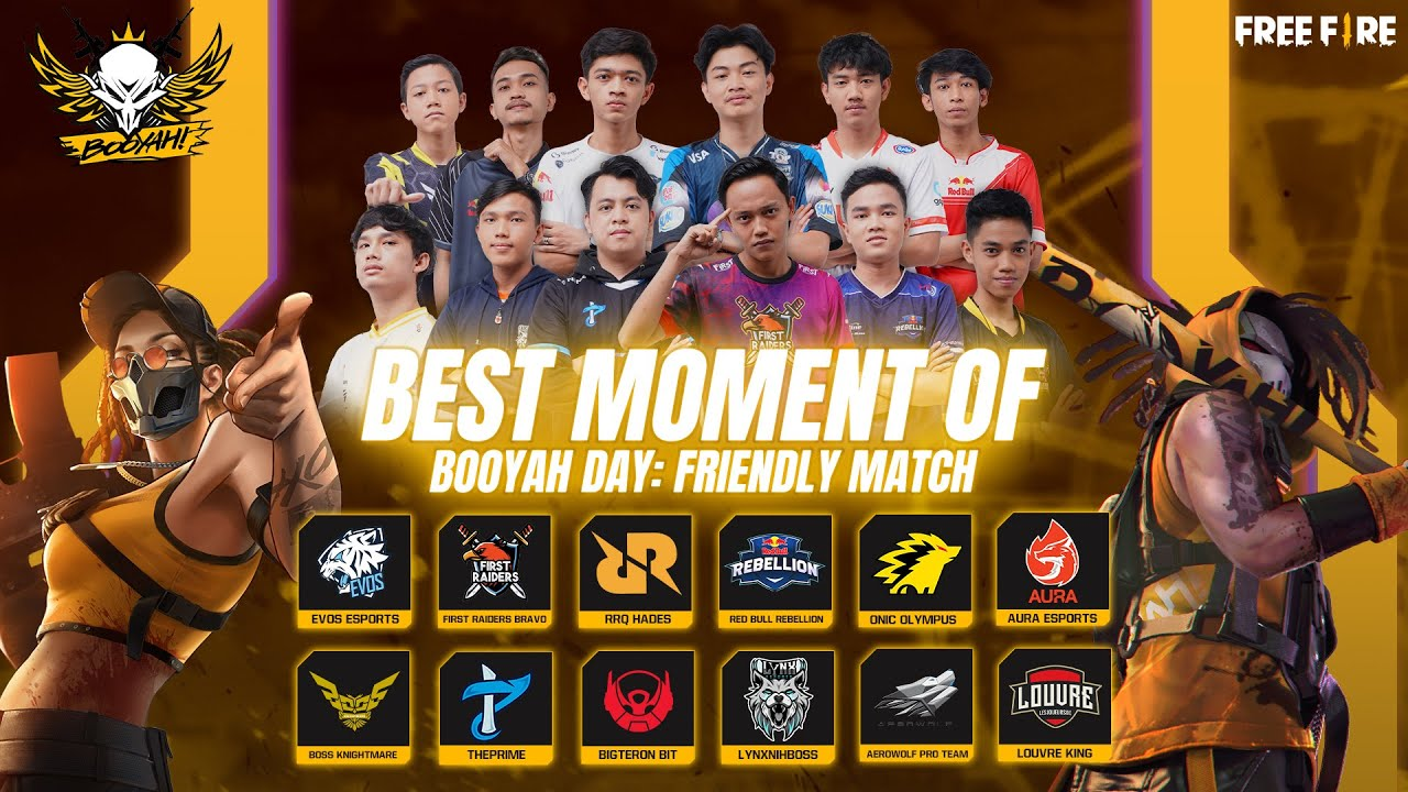 Best Moment of Booyah Day: Friendly Match