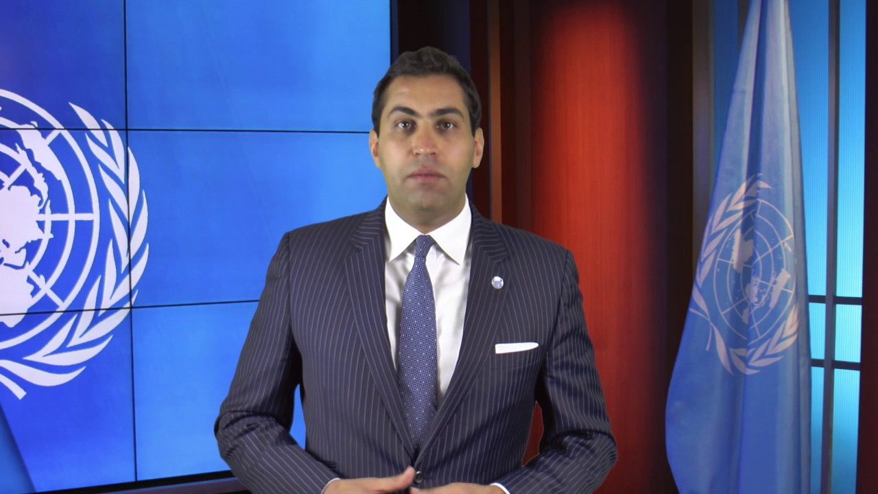 Ahmad Alhendawi preventing violent extremism and radicalization of youth, a message from  ahmad alhendawi