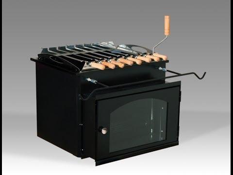 Финский гриль-вставка LappiGrill® BOX на www.GrilliBarbecue.ru