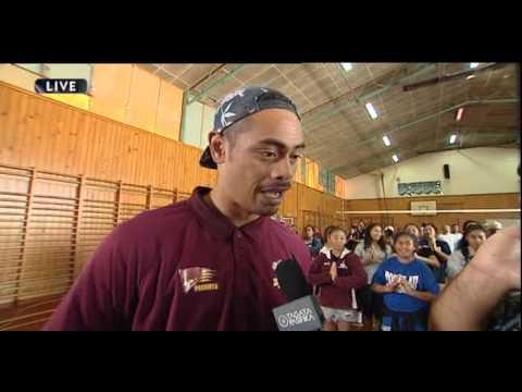 Tagata Pasifika: John Pulu chats with Taofia Pelesasa