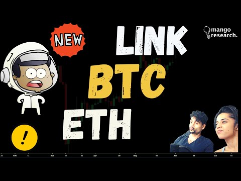 Bitcoin Chainlink & Ethereum | ETH LINK BTC | Price Prediction Today |  NEWS & Market Analysis🏮