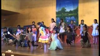 SYDNEY KANNADA SCHOOL KIDS PERFORMING GELI SONG