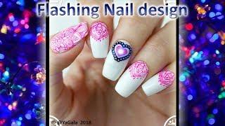 Flashing nails / Мигающий дизайн, «Умный Маникюр»