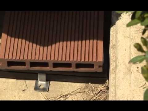 How to install WPC DECKING