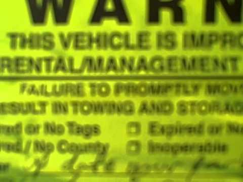 Parking Permit Issue with Vista Management