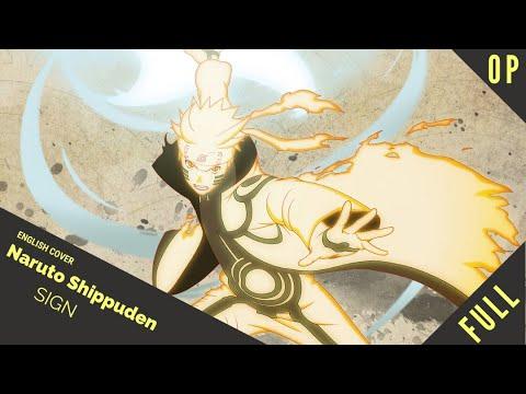 「English Dub」Naruto Shippuden OP 6 Sign FULL VER.【Sam Luff】- Studio Yuraki