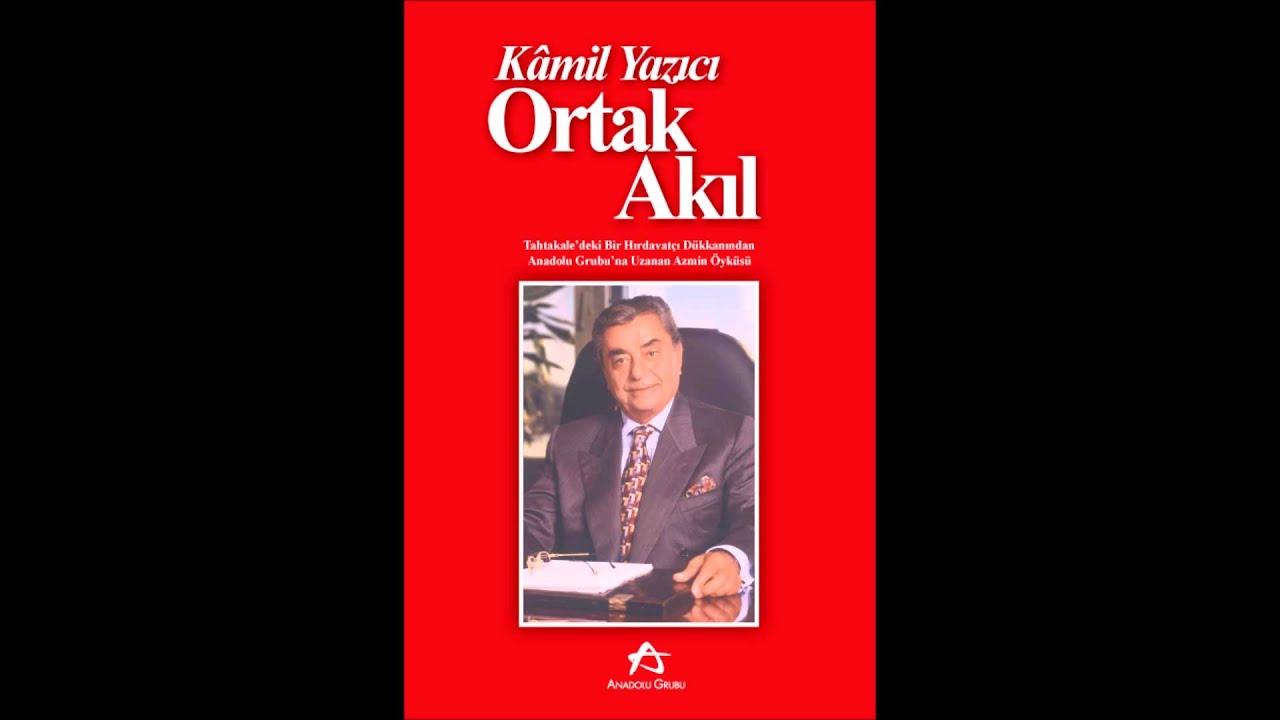 Kamil Yazıcı – 'Ortak Akıl' isimli kitabı (Görme engelliler için sesli kitap)