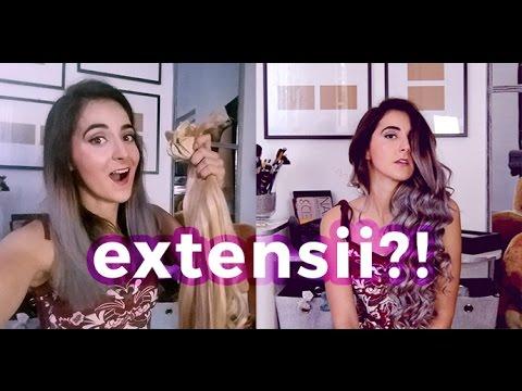 Extensii Din Par Natural Irresistibleme Cum Le Aplic Youtube