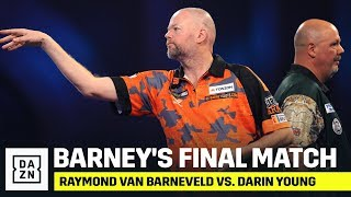 FULL MATCH | Raymond van Barneveld's Final Career Match vs. Darin Young