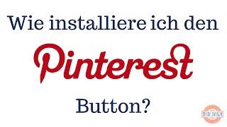 Pinterest Button installieren (Teil 2)