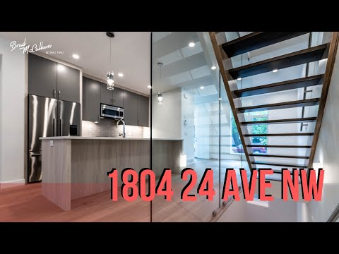 Modern + Hip Townhome in Capitol Hill - Calgary Inner City Infill Real Estate