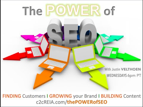 Building a strong Brand foundation online- The Power of SEO-C2CREIA001