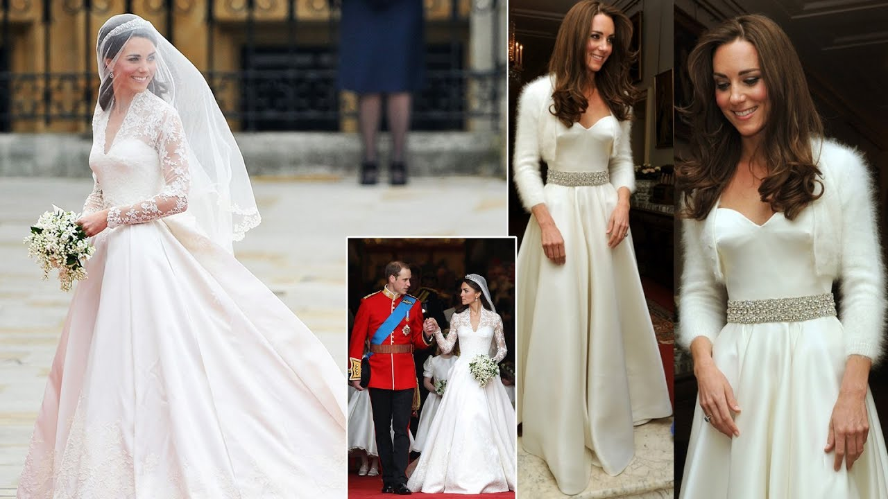 Kate Middleton had a SECOND wedding dress when she married Prince ...