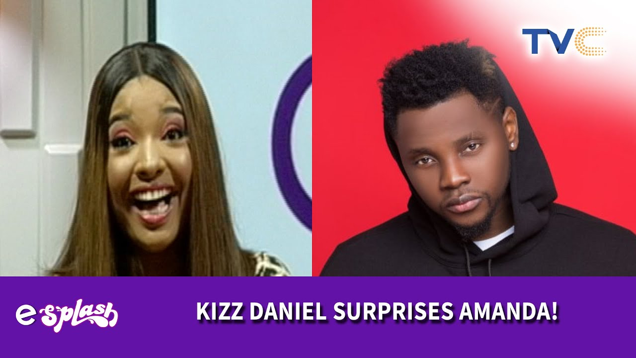 Amanda's Crush, Kizz Daniel Surprised Her On Live TV