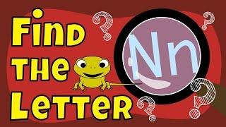 Alphabet Games  Find the Letter N