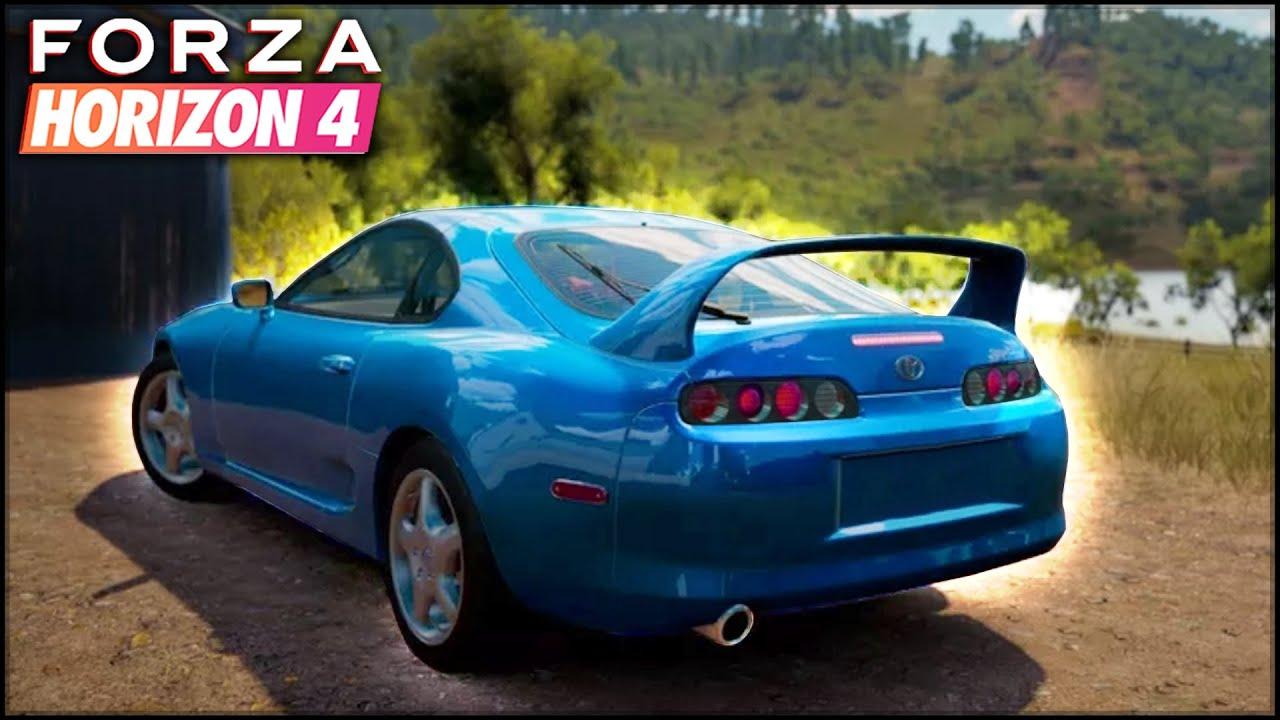 Toyota Supra revine in joc! - Forza Horizon 4