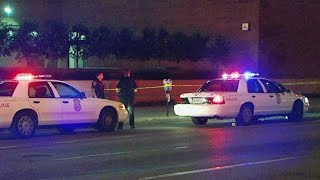 Suspect sought after 6 injured in downtown shooting
