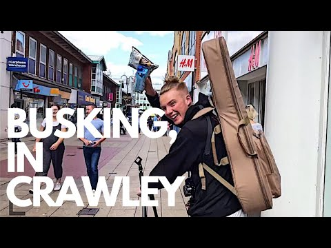 Busking In Crawley