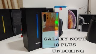 Samsung Galaxy Note 10 Plus Aura Glow Unboxing