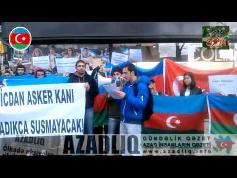 """3:24 Ankaradan """"Əsgər ölümlərinə son"""" aksiyasına dəstək"""