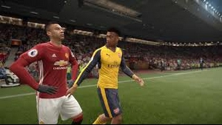 Manchester United vs Arsenal EPL 2017 FIFA 17 Full Gameplay PS4 XBox One PC