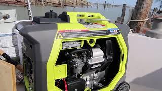 Review of my Ryobi 2300 Watt Bluetooth enabled generator