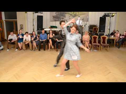 Lindy Hop Jack'N'Jill Finals - Nastya Gorban & Fernando Morrison (Swinglandia 2016)