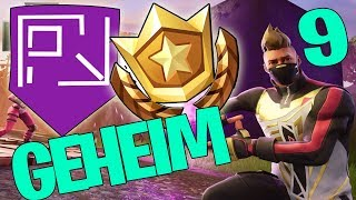 "GEHEIMER BANNER WOCHE 9 SEASON 5 ☆ ""BATTLE PASS STERN"" ☆ FORTNITE BATTLE ROYALE DEUTSCH"