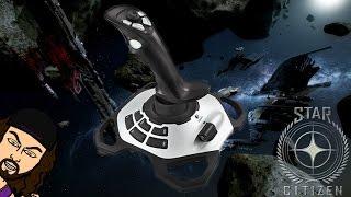 Star Citizen Gameplay w/ Logitech Extreme 3D Pro Flight Joystick (X3D)