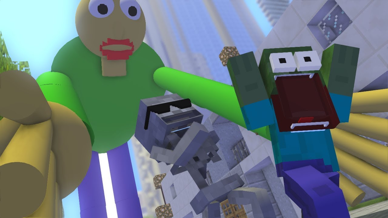 Monster School : GIANT BALDI'S - Minecraft Animation