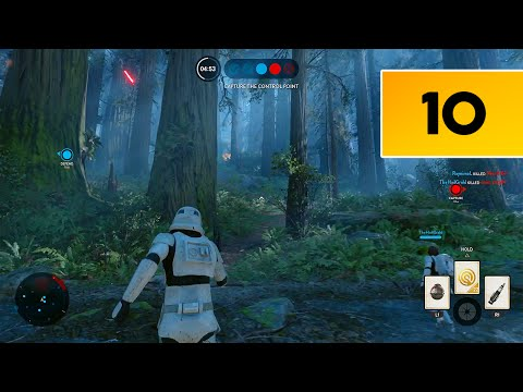 Star Wars Battlefront (PS4) - RTMR - Multiplayer Gameplay #10 - EWOKS AND GRENADES EVERYWHERE!