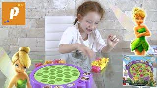 Играем в игру - челендж: игра рыбалка от тинкер белл - маленькая фея динь динь