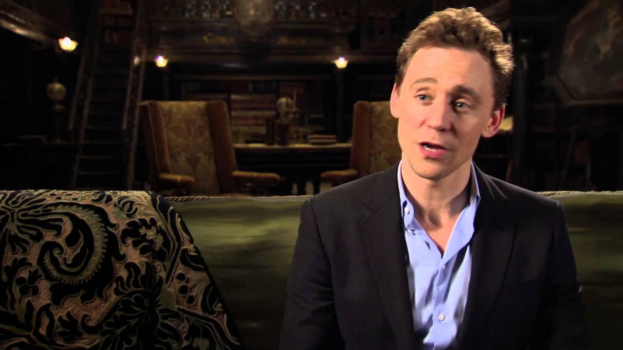"Crimson Peak: Tom Hiddleston ""Thomas Sharpe"" Behind the ..."
