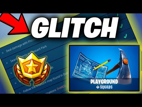Fortnite How To Do Challenges In Playground (Still Works 2019) | Fortnite Glitch