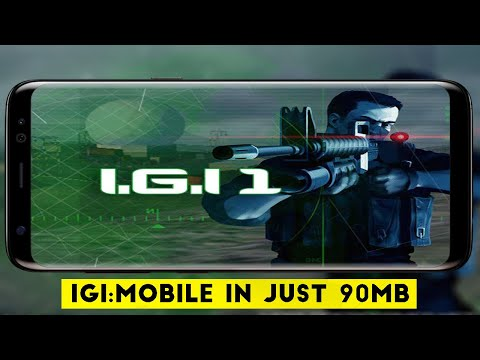 Project I.G.I: Mobile | In Just 90MB For Android | High Graphics Full Game With All Missions.