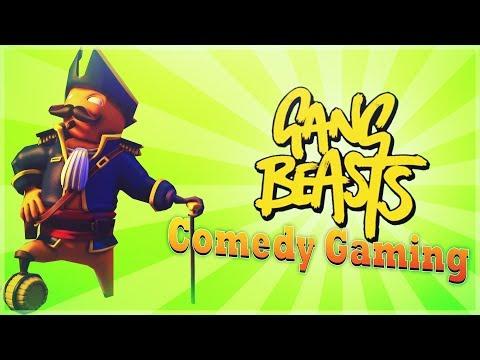 Gang Beasts -  Pirate Ted - Rockstars & Bulls*it - Comedy Gaming