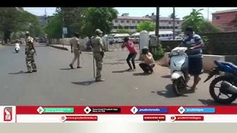 CRPF TAKES CHARGE IN SOME PARTS OF GOA