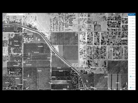 aerial photo video of sunnyslope around sunnyslope high school
