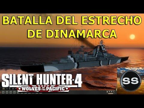 Silent Hunter 4 Naval Battle of Denmark Strait. Batalla del Estrecho de Dinamarca.