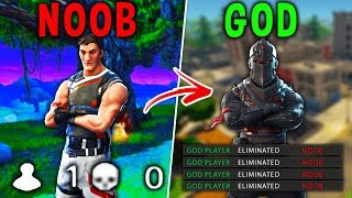 Top 5 Differences Between NOOBS And GOD Players in FORTNITE! (Battle Royale)