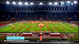 2008 UEFA Champions League Final Opening Ceremony, Luzhniki Stadium, Moscow