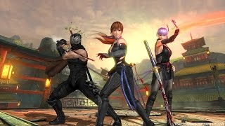 DOA5LR Scorpion Fantom vs The Killer Kunoichi vs Smoke Fire