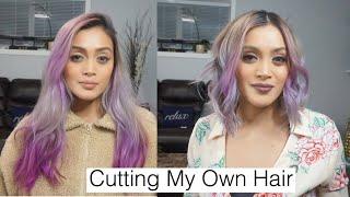 CUTTING MY OWN HAIR SHORT DIY Technique