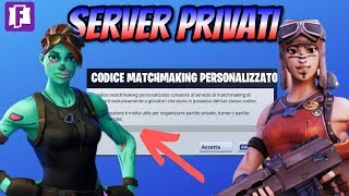 🔴 FORTNITE PRIVATE SERVER FOR ALL - CONTEST WITH THE V BUCKKOZZI COL TAG ZIO-TUBO