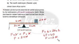 SBS Fen Bilgisi Dersi Konu Anlatımı   Basit Makineler   7 Sınıf   1