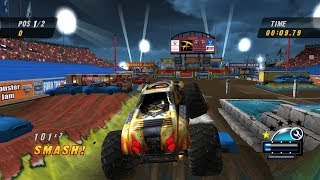 Monster Jam Urban Assault - All Stadium Races (Dolphin Emulator 60FPS)