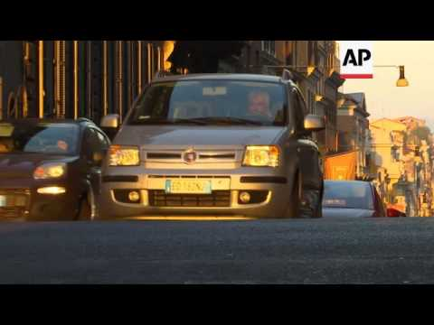 Weather worsens air pollution in Italian cities